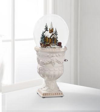 church snow globe by san francisco box company webgift
