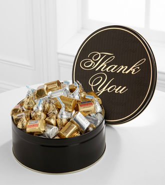 Sweets in Bloom Thank You Tin - WebGift
