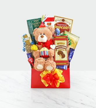 http://www.FlowersFast.com - Beary Happy Birthday – WebGift