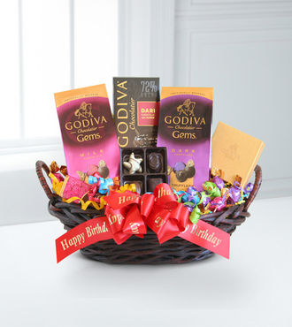 Godiva Chocolate Lover's Birthday Surprise - WebGift