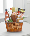 Amber Soothing Spa and Gourmet Basket - WebGift