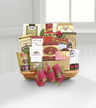 Forever in Your Heart Sympathy Basket - WebGift
