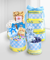 Celebrate the Baby Boy Gourmet Gift Tower - WebGift