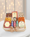 Image of Standard version for Deluxe Meat and Cheese Wooden Gift Crate - WebGift