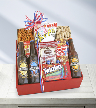 Americana Snack Box - WebGift