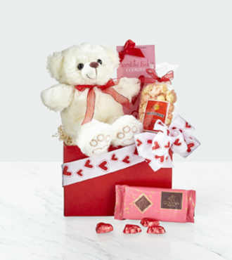 Beary Sweet Valentine's Day Gift Set - WebGift - WGG993