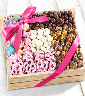 Mother's Day Sweets Gourmet Gift Basket - WebGift