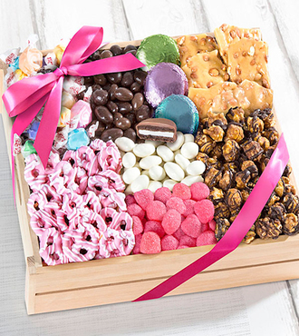 Mother's Day Sweets Gourmet Gift Basket - Deluxe - WebGift