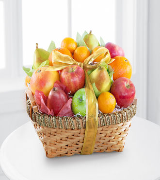 Gourmet Goodness Kosher Fruit Basket - WebGift - WGGF66