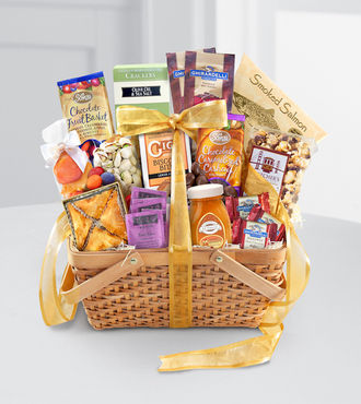 Gourmet Riches Kosher Gift Basket - WebGift - WGGF67
