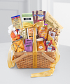 Gourmet Riches Kosher Gift Basket - WebGift