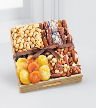 Kosher Dried Fruit and Nut Tray - Small - WebGift - WGGF68