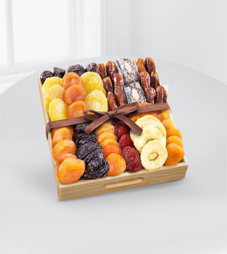 Kosher Gourmet Dried Fruit Tray - WebGift - WGGF70