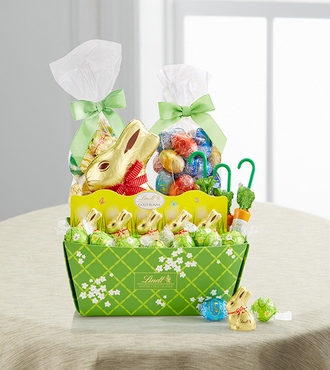 Lindt Easter Cheer Basket - WebGift
