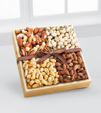 Kosher Assorted Nuts Tray - WebGift