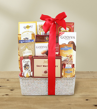 Chocolate Indulgence Basket - Premium - WebGift